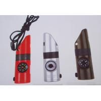 China Whistle, compass, thermometer, magnifying glass, mirror, LED light small lamps, on sale