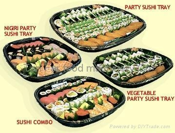 Cheap disposal sushi tray for sale