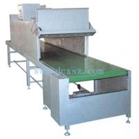 Plastic silk screen drying line