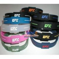 China EFX bracelet EFX Power Balance Wristband EFX Silicone Bracelet on sale