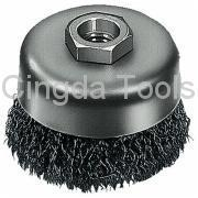 Best Wire Brush CRIMPED WIRE CUP BRUSH wholesale
