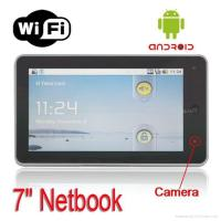 """Best Android 2.1 webcam 7"""" Android market installed HDMI 2GB HDD Wifi tablet pc net wholesale"""