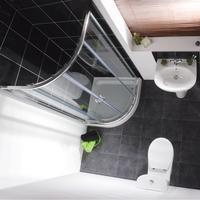 Milano Elba with 900 Quadrant - Bathroom Suites
