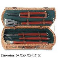 China 5 PCS BBQ Tool set BBQ Basket on sale