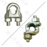 China Rigging MALLEABLE CAST WIRE ROPE CLIPS,TYPE B on sale
