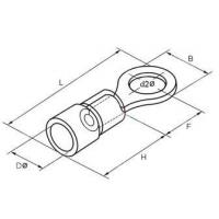 Buy cheap terminal insulated ring terminal product