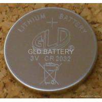 China Button Cell Battery lithium button cell battery CR2032 on sale