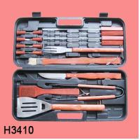 China 18pcs BBQ set with case H3410 on sale