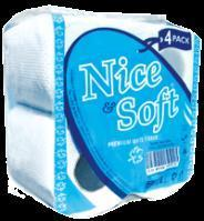 China Nice and Soft Toilet Tissue- Four Pack on sale