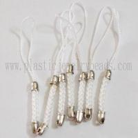 Best wholesale white color charm mobile straps online--SCS001 wholesale