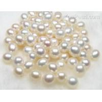 China 7.5-8.5mm white rice fresh water loose pearl beads on sale, AAA on sale