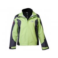 China The North Face Women's Waterproof Triclimate Jackets In Green Black on sale