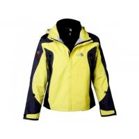 China The North Face Women's Waterproof Triclimate Jackets In YellowBlack on sale