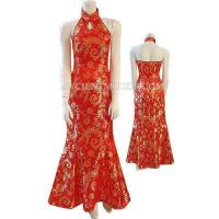 Best Red/Golden Chinese Fashion Prom Dress,Chinese Dresses,Chinese Clothing wholesale