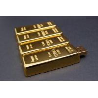 Buy cheap Gold Brick USB Flash Drive from wholesalers