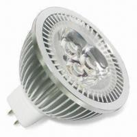 China 1W High Power MR16 LED Bulb with 30,000 Hours Average Lifetime and 2,700 to 7,000K GL243 on sale
