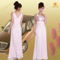China 4119# Sequined bust wedding guest dress on sale