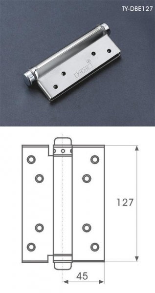 Cheap SS SPRING DOOR HINGE for sale