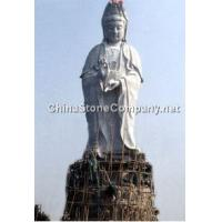 Goddess of Mercy stone statue of Buddha 18 temples and other religious stone luohan Detail