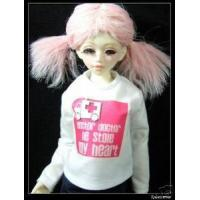 Dollfie MSD/Unoa Outfit Long Sleeves Tee Ambulance