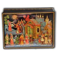 Buy cheap The Snowmaiden Fairytale - Palekh Lacquer Box from wholesalers