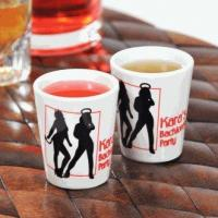 Personalized Devil's Advocate Party Shot Glasses (Set of 2)