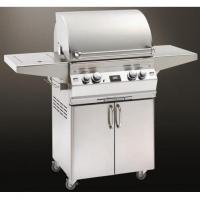 China Fire Magic Gas Grills Aurora A430s Natural Gas Grill With Single Side Burner And Rotisserie On Cart on sale