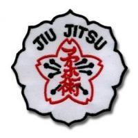 China Okinawan Flower Jiu Jitsu Patch on sale