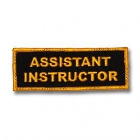Cheap Assistant Instructor Patch for sale