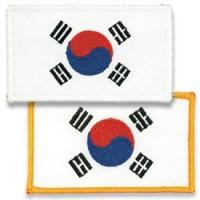 Best Korean Flag Patch wholesale