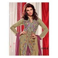 Buy cheap Heavy Yoke Embroidery Pattern Suit product