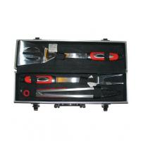 China 3pc BBQ Tool Set with PP on sale