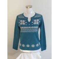 Best lady new style round neck sweater wholesale