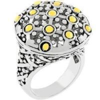 China Antique Studded Ring on sale