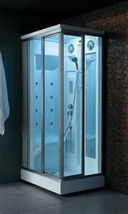 Cheap Transparent Glass Steam Shower Room for sale