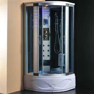 Cheap Tempered Glass Steam Shower Room for sale