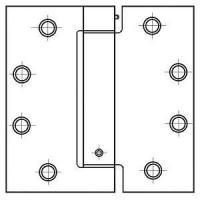 """Best PHG 4-1/2"""" Grade I Commercial Spring Hinges with Square Corners (each) wholesale"""