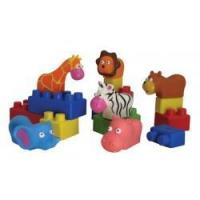 Best Blocks & Construction Mini Edu-Animals, 28 pieces wholesale