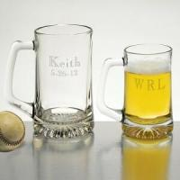Best Anniversary Gifts 15oz Glass Tankard Personalized Free wholesale