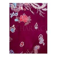 China Fabric Traditional Dragon and Phoenix Silk Brocade on sale