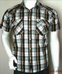 Best Mens check casual shirt wholesale