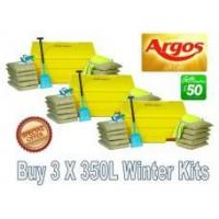 Best Offers with Free Gifts 3x 350 Litre Grit Bin Winter Pack with Free Gift wholesale