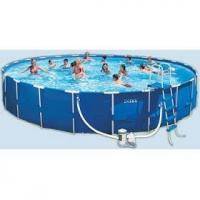 China Intex Metal Frame 24 ft. x 52 in. Swimming Pool on sale