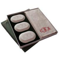 China Luxury Gift Set (3 bars, 1 towel) (Vine font shown) on sale
