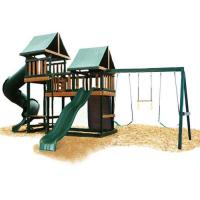 China Congo Monkey Playsystems #3 Swing Set In Green & Brown [WG-MKY-3] on sale
