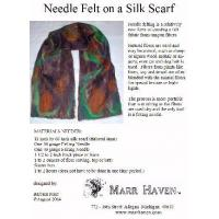 Best Needle Felt Instructions for Silk Scarf, Hat or Purse wholesale