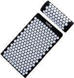 Buy cheap HemingWeigh Complete Acupressure Mat and Pillow Set with Bonus Carry Bag (Black) from wholesalers