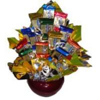 Best Gourmet Gold Candy Bouquet wholesale