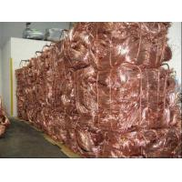 China COPPER SCRAP WIRE 99.99% on sale
