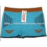 China Men's underwear Newest printing men's seamless boxers shorts on sale